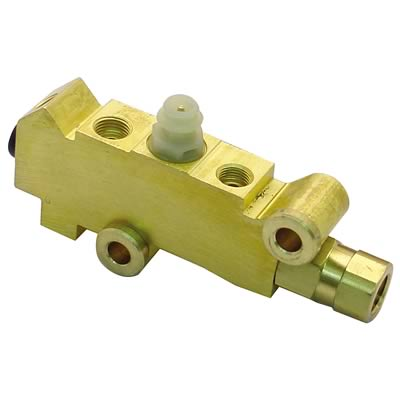 Proportioning Valve Pre set Style for Disc front and rear Brass